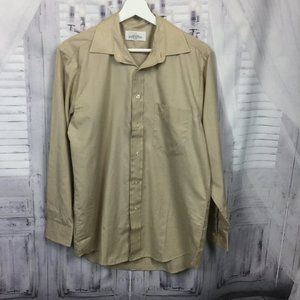 Givenchy Beige Shirt Button Down Pocket 15 31-32